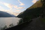 AEdnafossen_014_06232019 - Context of the pedestrianized tunnel bypass road and Sorfjorden as the sun was setting