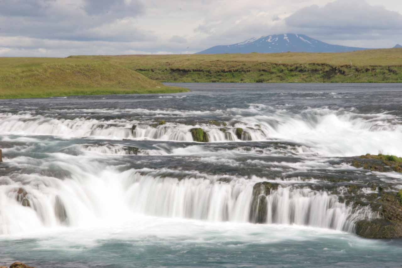 Mt Hekla and AEgissufoss
