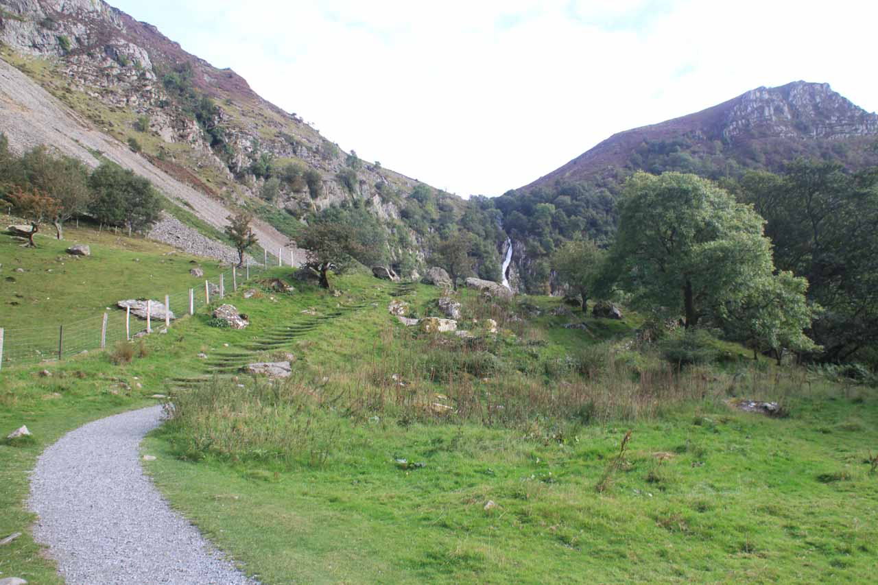 At this point, Aber Falls was just in front of me beckoning me to come closer