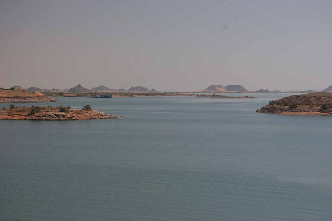 Another look at Lake Nasser