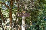Adams_Falls_004_08092020 - Sign at the trailhead for the Adams Canyon Trail indicating that the Adams Falls was 1.75 miles away. Fortunately, I didn't have to go that far to experience the Lower Adams Falls