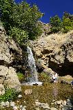Adams_Falls_035_08092020 - Looking towards the Little Adams Falls with a family already here to enjoy its cool waters