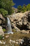 Adams_Falls_046_08092020 - Long-exposed look at the Adams Canyon Lower Falls while I briefly had some alone time here during my scorcing mid-August 2020 visit