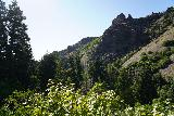 Adams_Falls_151_08092020 - Looking back downhill towards the contours of Adams Canyon on my August 2020 visit