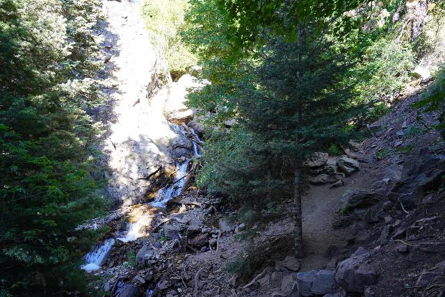 Adams_Falls_175_08092020 - The same cascade as the prior photo, but this time this was under the lower mid-August flow during my visit in 2020
