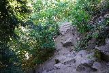 Adams_Falls_181_08092020 - Still continuing to hike along some rough rocky sections of the Adams Canyon Trail as I was getting closer to Adams Falls in mid-August 2020
