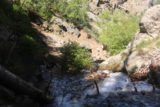 Adams_Falls_211_05272017 - A steep descent on the scramble of North Holmes Creek on the return hike from Adams Falls
