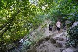 Adams_Falls_240_08092020 - Passing slower hikers that I had seen on the way up. That was how quickly I was going on the return hike in August 2020 from Adams Falls