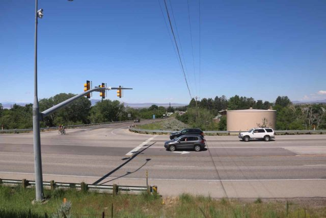 Adams_Falls_267_05272017 - Looking across the Hwy 89 from the intersection of Hwy 89 and Oak Hills Drive where there was a water tank that could act as a good landmark before the turn onto Eastside Drive