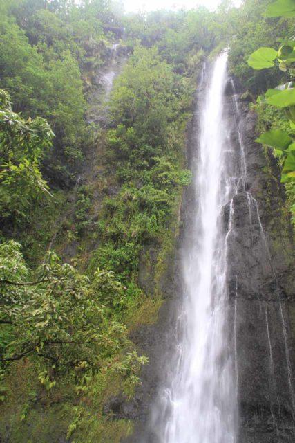 Afareaitu_Waterfalls_092_20121219 - 'Vaioro Falls', which was one of the Afareaitu Waterfalls on Moorea Island