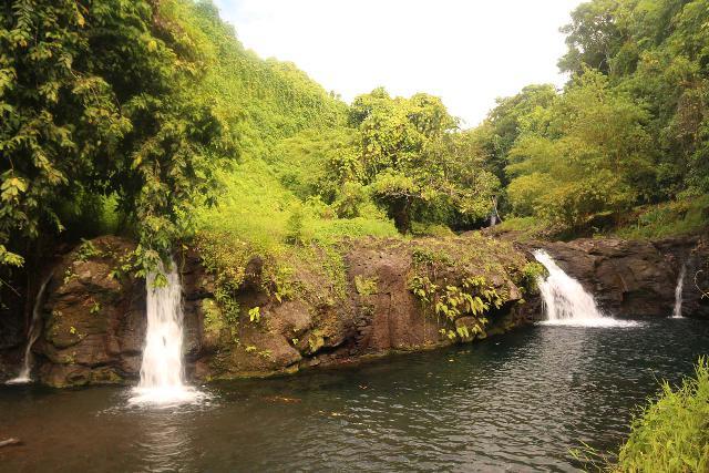 Afu_Aau_Falls_030_11142019 - The full width of the lowermost of the Afu Aau Waterfalls