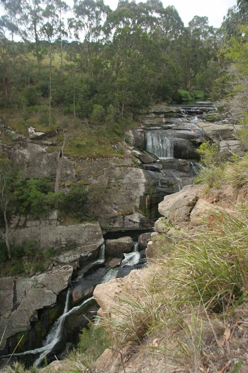 This was about as much of Agnes Falls as we could capture in one shot, which was taken from an overlook a short distance set back from the other lookout at the end of the track in November 2006