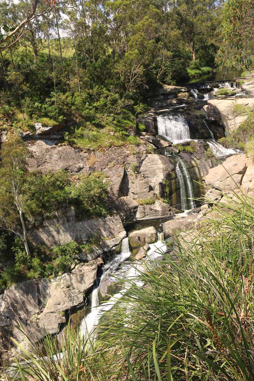 This was the view of Agnes Falls from the other lookout nearby