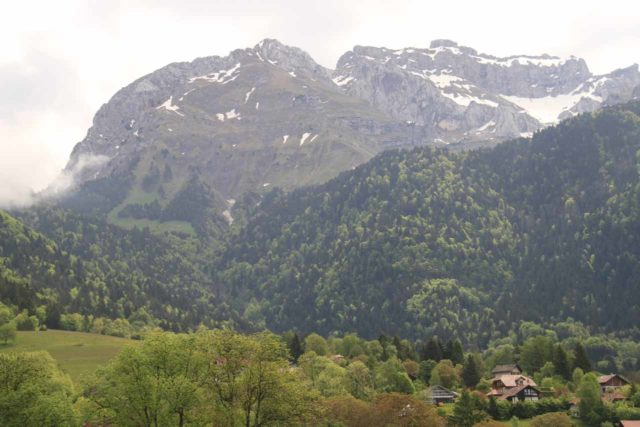 Agnon_101_20120519 - Looking towards the neighboring mountains and hamlets from the early part of the trail to Cascade d'Angon