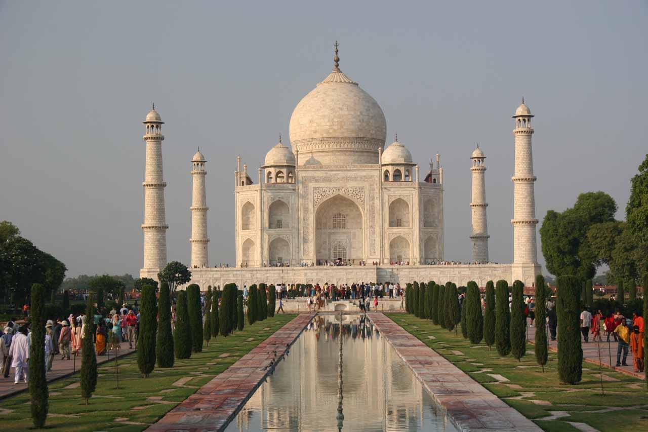 The famous Taj Mahal in Agra