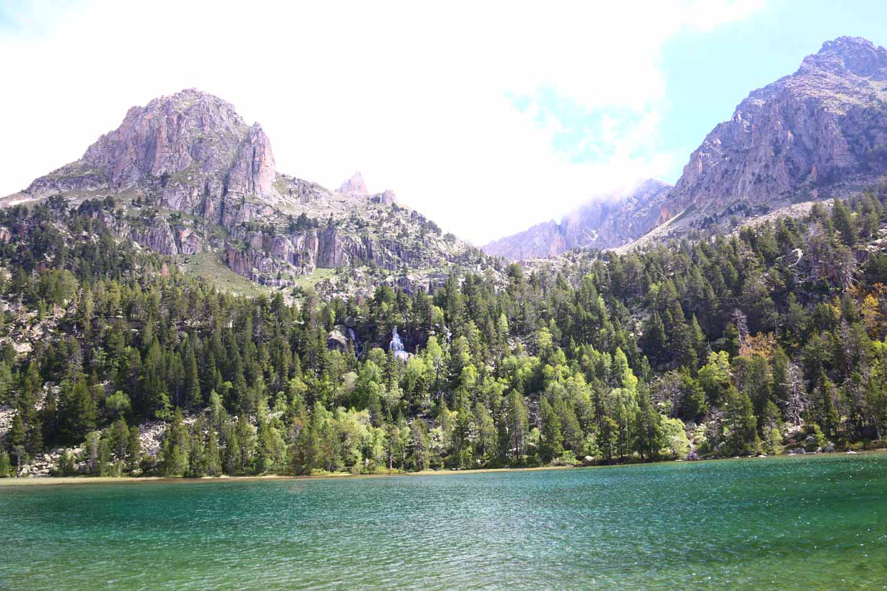 This was Estany de Ratera - the second lake up from Espot