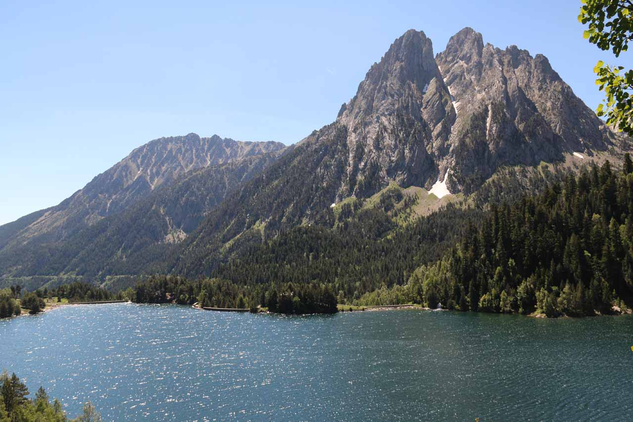 Estany de Sant Maurici - the first lake up from Espot