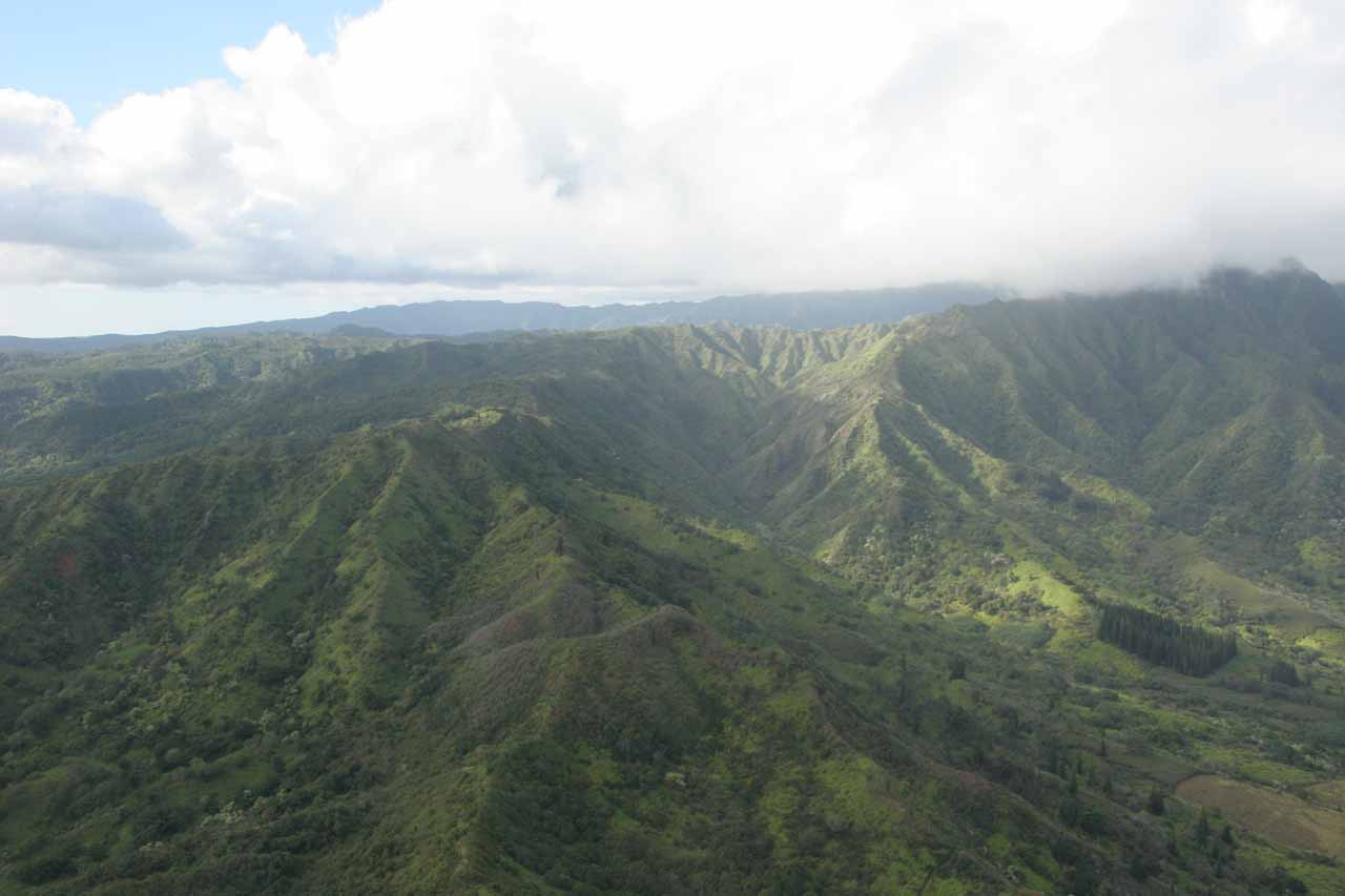 Separate tour.  This time we were flying with Air Kauai