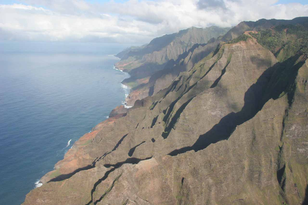 Once again, the Na Pali Coast flyover