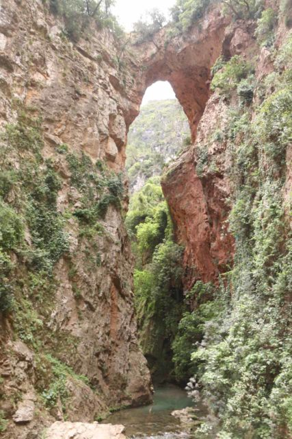 Akchour_193_05222015 - The Bridge of God (le Pont de Dieu) and the Oued Farda river
