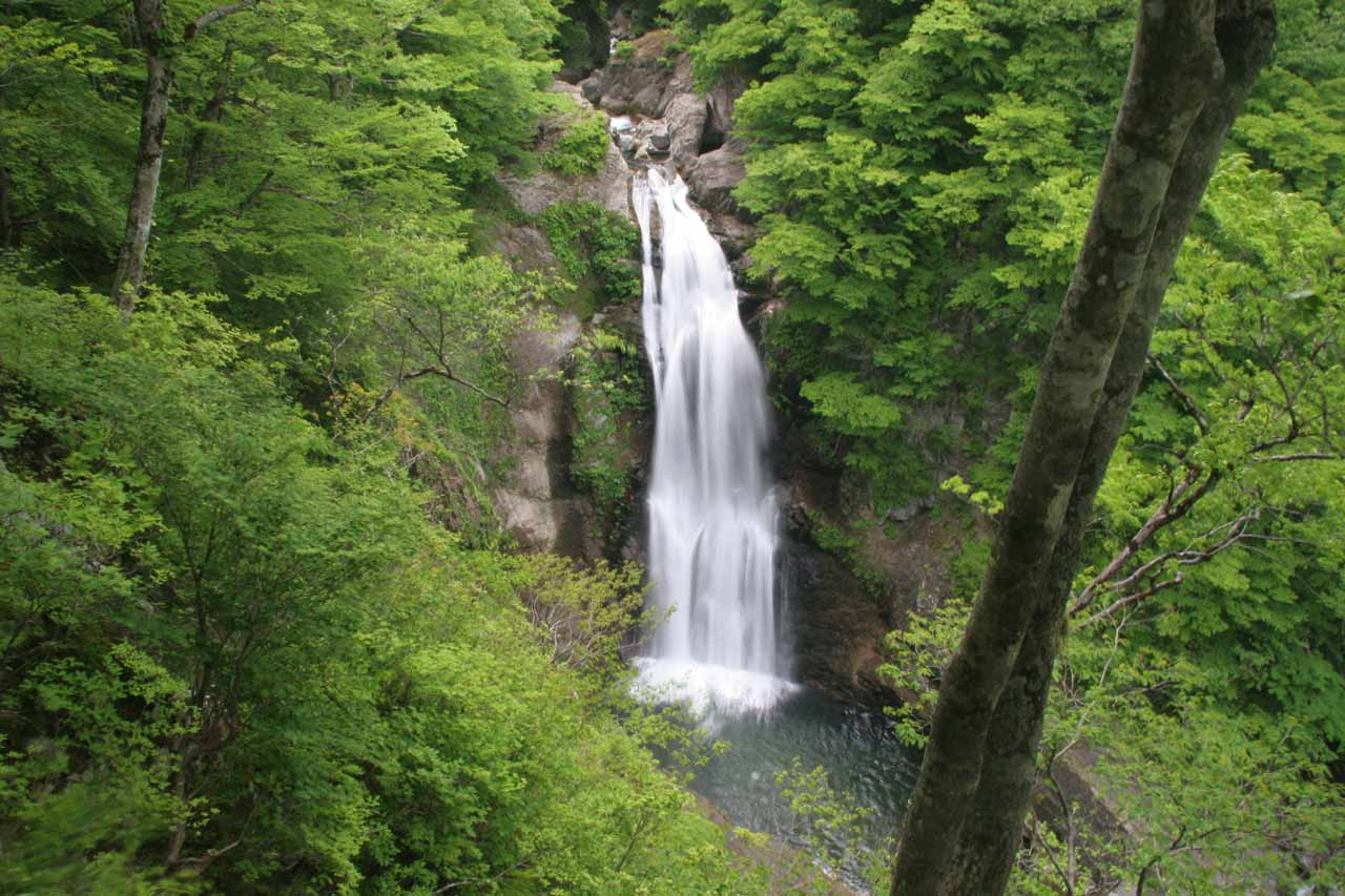 Another look at the Akiu Otaki Waterfall