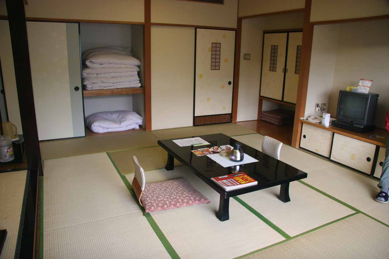 Our Japanese style room