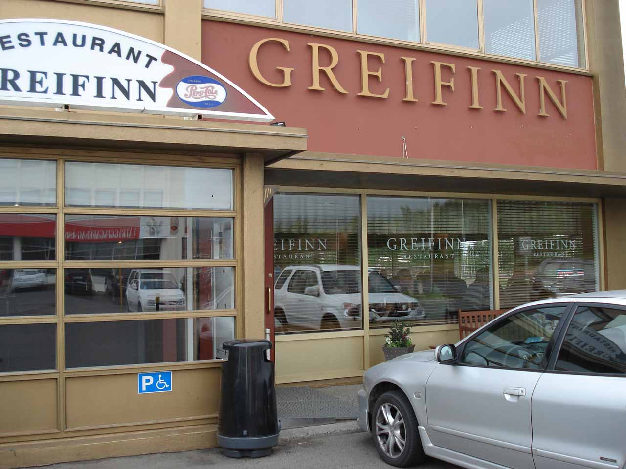 The restaurant Greifinn