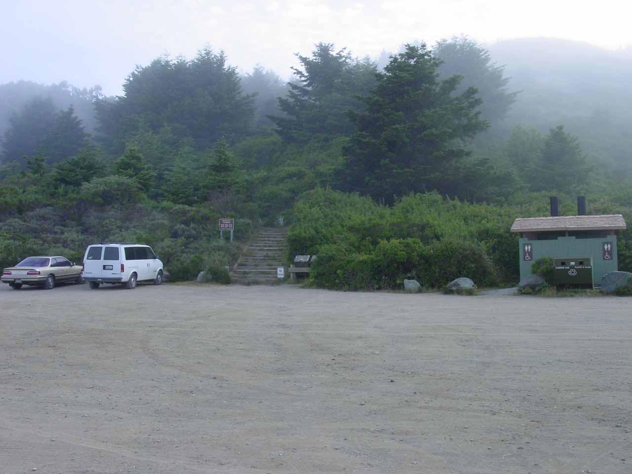 The Palomarin Trailhead