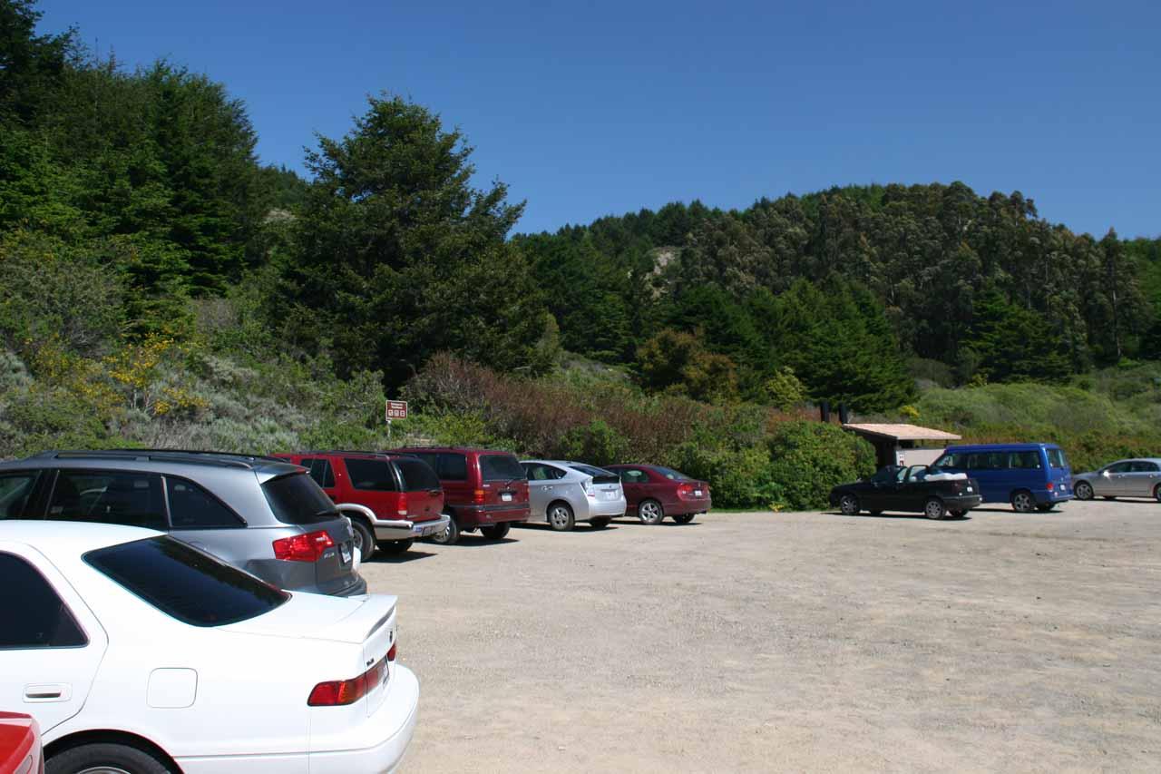 A busy Palomarin Trailhead