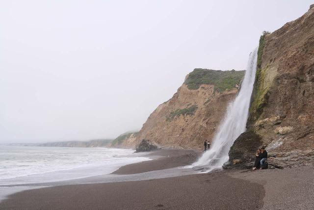 Alamere_Falls_182_04192019 - Stairstep Falls was near the town of Olema, which was one of the spots you can base yourself in to explore the Point Reyes National Seashore
