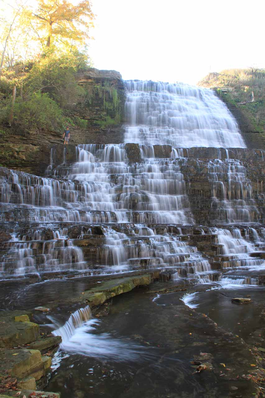 Finally some satisfactory views of Albion Falls