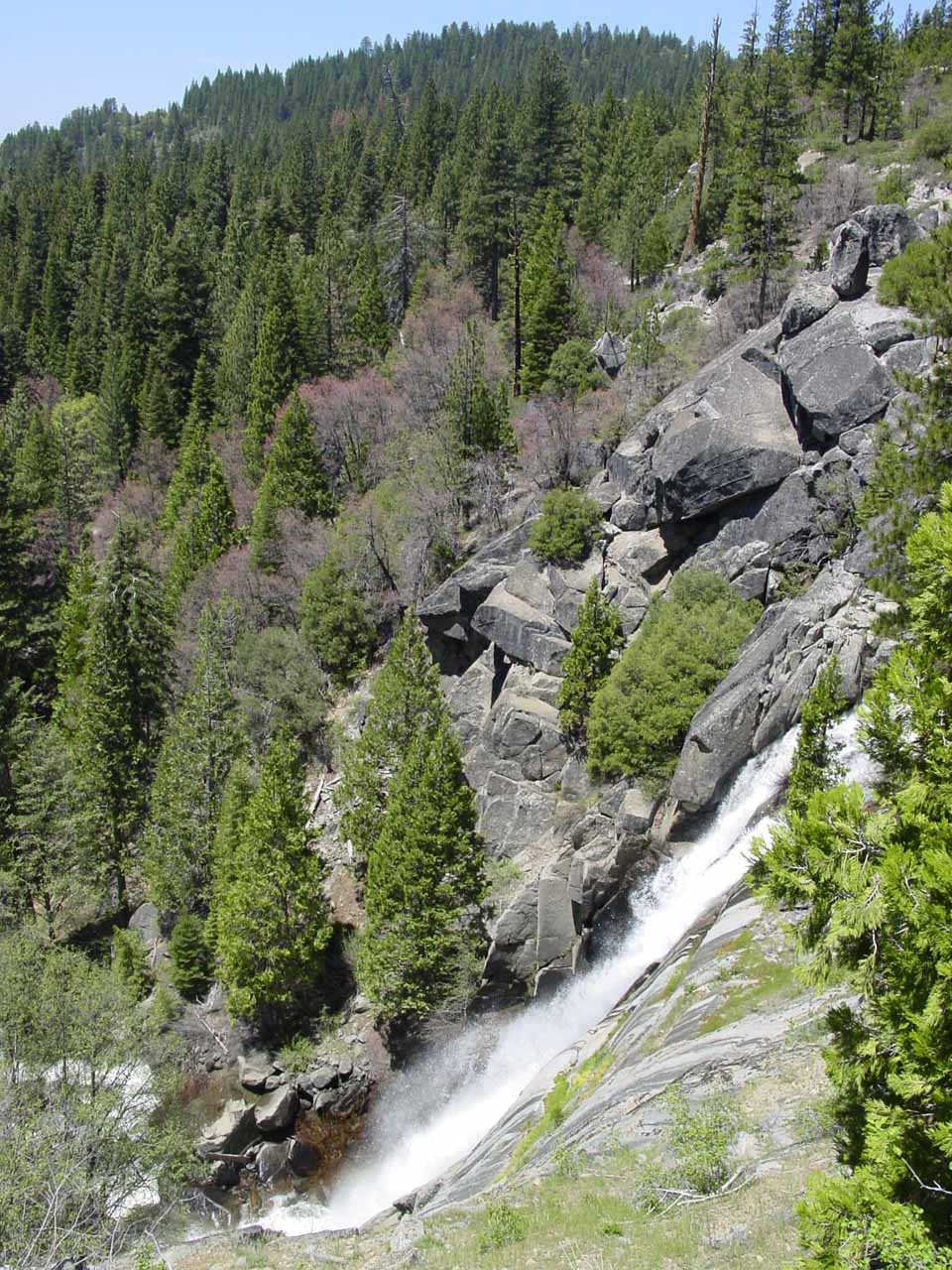Another profile look at Alder Creek Falls