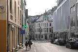 Alesund_016_07172019 - Julie and Tahia walking in the sentrum in Alesund