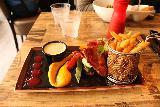 Alesund_025_07172019 - This was the reindeer steak dish served up at Lyst Cafe in Alesund