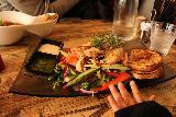 Alesund_026_07172019 - This was some chicken salad dish served up at Lyst Cafe in Alesund