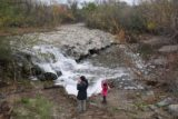 Aliso_Viejo_Falls_050_01022017 - Julie and Tahia checking out the Aliso Viejo Waterfall
