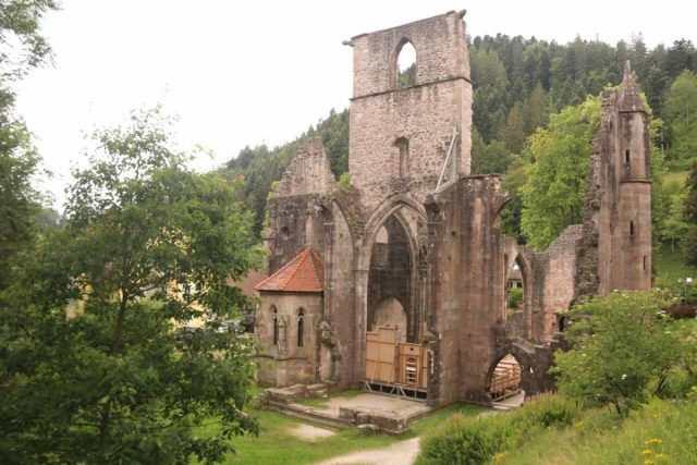 Allerheiligen_114_06222018 - This was the Allerheiligen Monastery Ruins, which had some Roman heritage. It was about 1.3km walk upstream from the top of the Allerheiligen Waterfalls or a short walk from a nearby car park