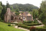 Allerheiligen_143_06222018 - Looking back at the closter ruins from the church near the Allerheiligen Waterfalls