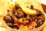Alta_004_07052019 - Mussels served up at Du Verdens Cafe in Alta