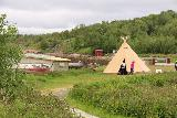 Alta_Museum_080_07062019 - Approaching the lavvu (Sami teepee) at the UNESCO World Heritage Alta Museum