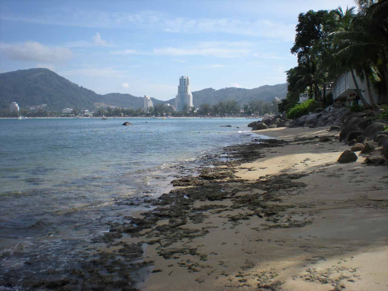 Looking back towards Patong Beach