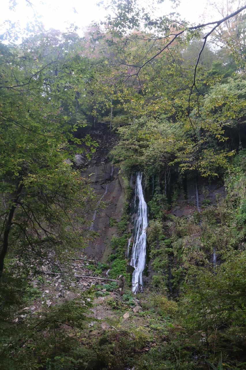 This was the Nunobiki Falls, which was the companion waterfall to Amedaki Falls