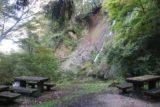 Amedaki_112_10232016 - Picnic tables fronting the base of Nunobiki Falls