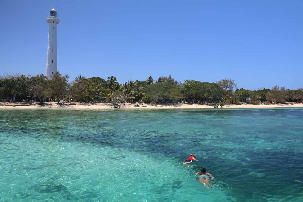 From Noumea, day trips could be arranged to the Amedee Island and Lighthouse. It was here that we got to snorkel with sea turtles and relax by bright white beaches fringing the colorful reef itself