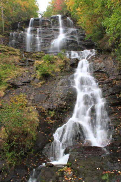 Amicalola_Falls_030_20121014 - Direct look up at the Amicalola Falls