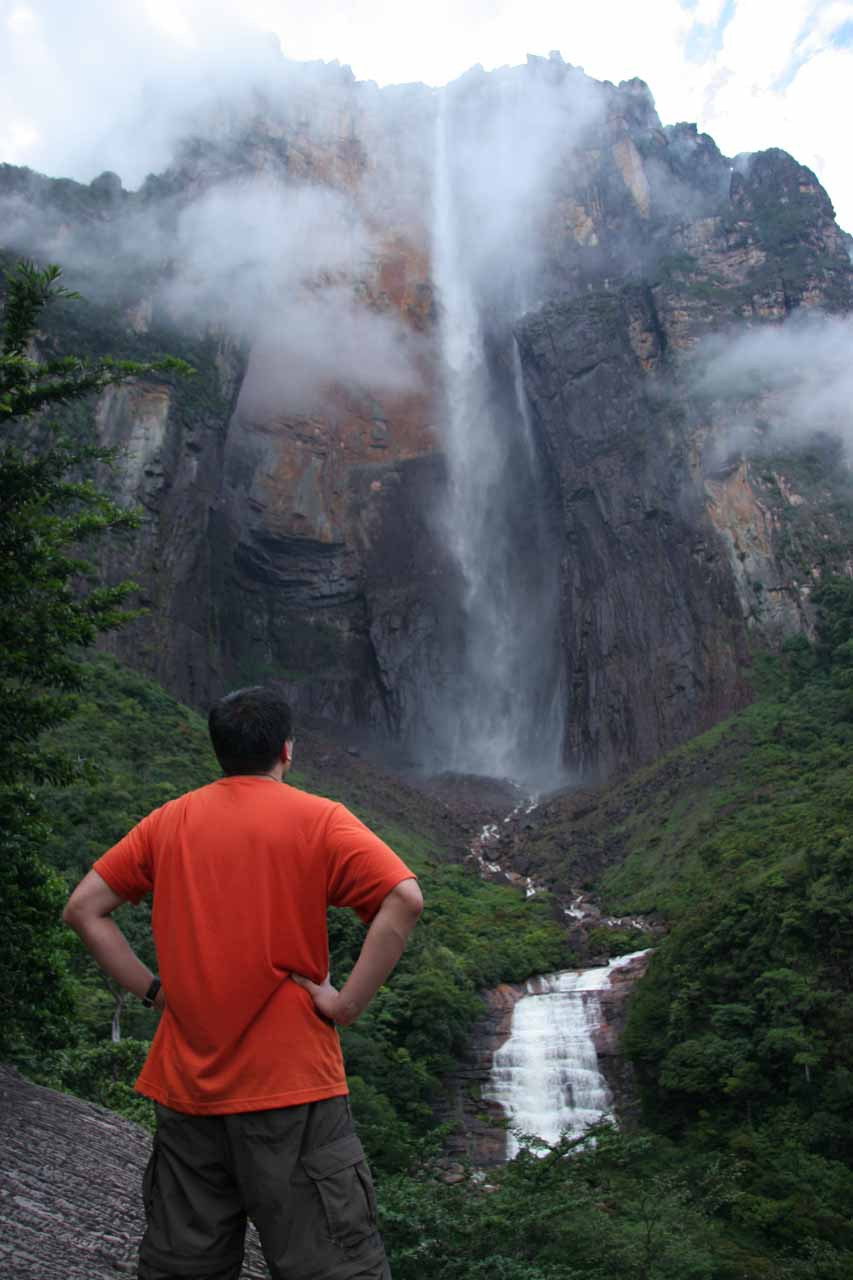 Of course waterfall lovers like us had to make the adventure deep into the rainforests of Venezuela for the chance at seeing the world's tallest waterfall in Angel Falls