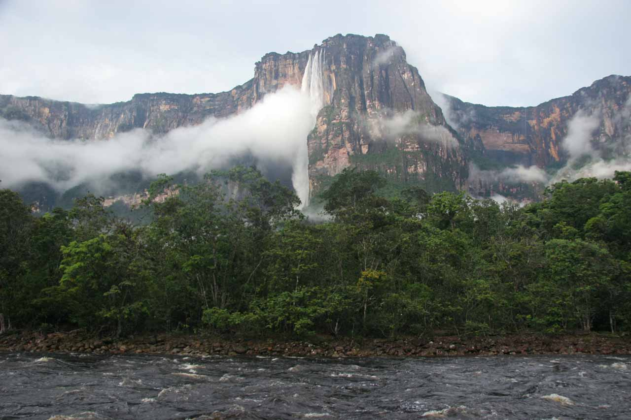 The full context of Angel Falls and Auyantepuy