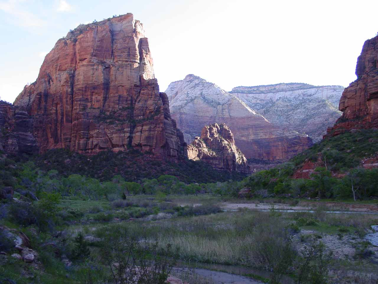 Angels Landing from the trailhead