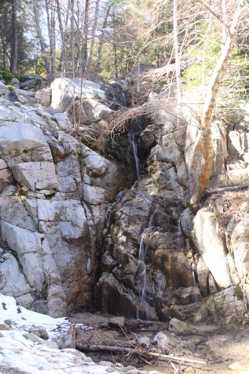The context of Cold Creek Falls