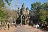 Angkor_Thom_004_01072009 - Approaching the Bayon Gate of Angkor Thom